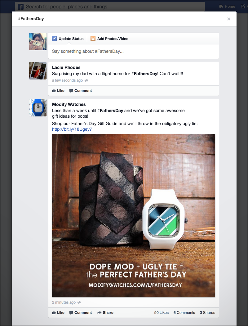 Facebook Launches Clickable Hashtags #Finally