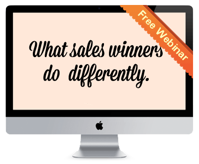 Join the Webinar: Inside the Winners Circle: What Sales Winners Do Differently, and How You Can Join