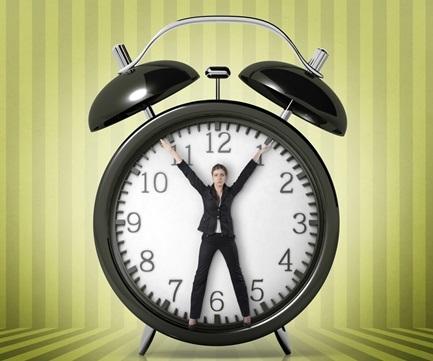 person-clock