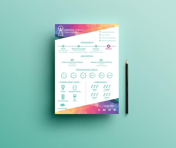 best resume design template