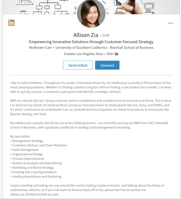 7 Creative Linkedin Summary Examples To Help You Craft Your