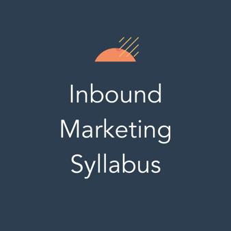Inbound Marketing Syllabus