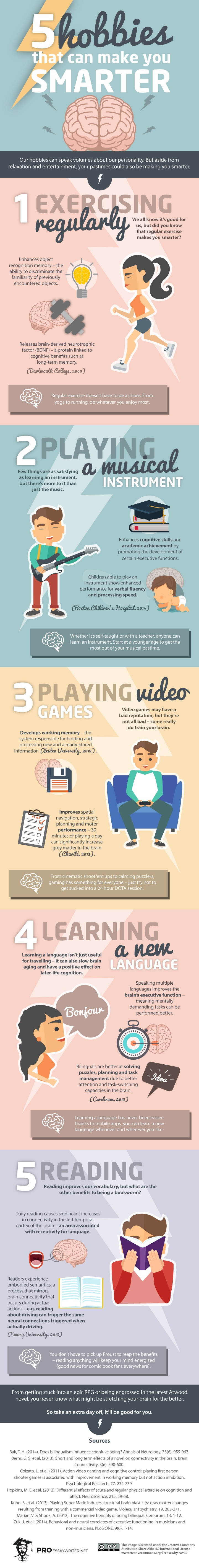 Hobbies That Make You Smarter
