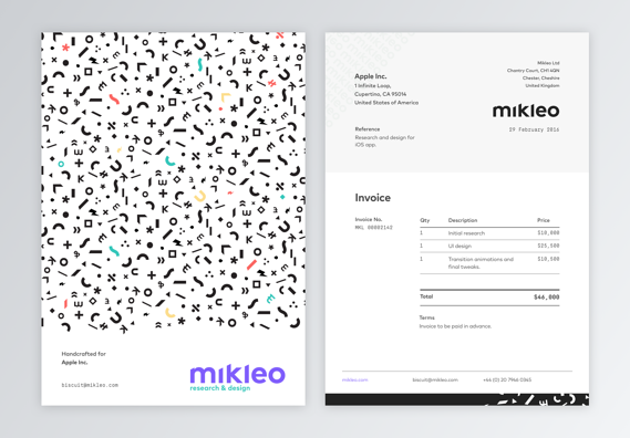 Professional Invoice Samples 10 Designs To Inspire You