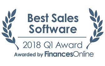 #1 in Top Sales Software Products on FinancesOnline