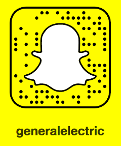 Follow @GeneralElectric on Snapchat