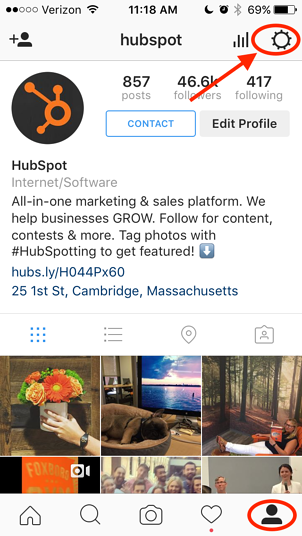 how to connect your social media accounts to hubspot
