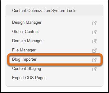 HubSpot-Wordpress-Blog-Importer