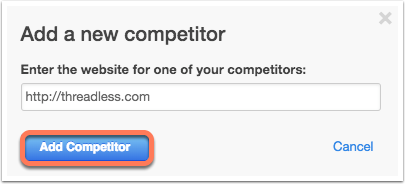 competitor report