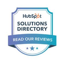 Read our Reviews on HubSpot's Solutions Directory