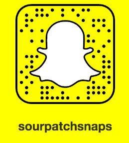 Sour Patch Snapchat code