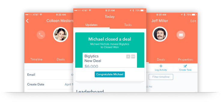 HubSpot CRM for iOS