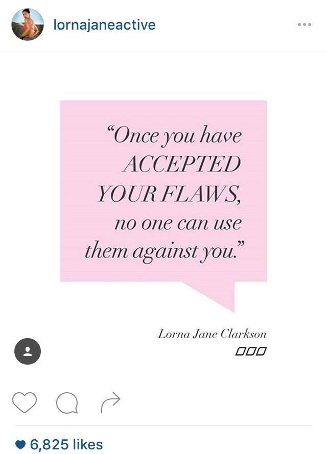 Delightful Lorna Jane Instagram Quote