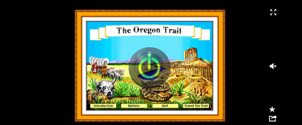 the wayback machine oregon trail
