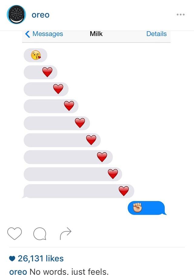 Oreo Instagram Funny Post