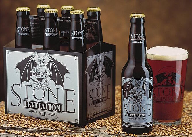 Stone Levitation Beer : The coolest beer label designs you ve ever seen