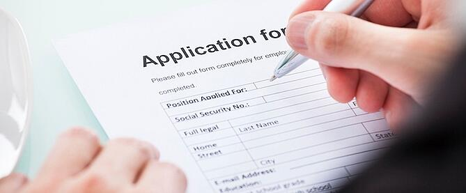 how to follow up on a job application by email