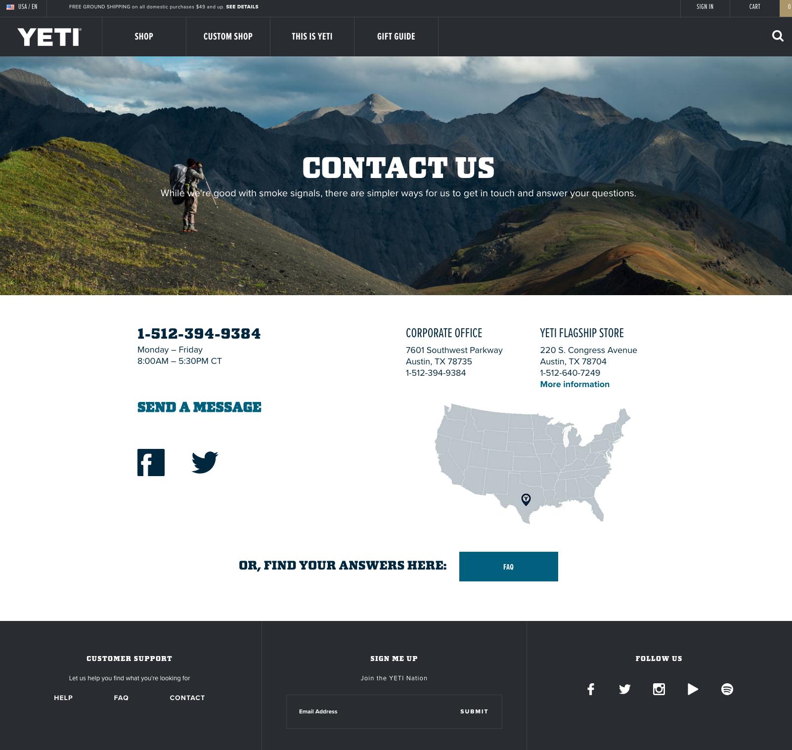 yeti-contact-us-page