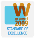 WebAward Standard of Excellence 2009