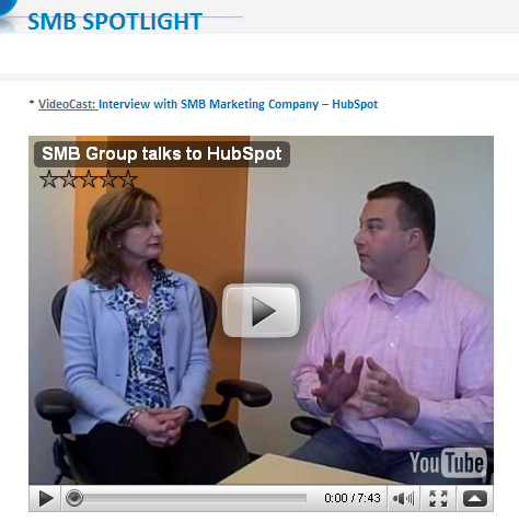 HubSpot SMB Group Podcast