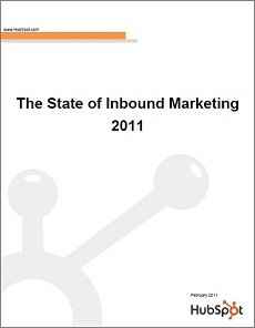 Live Webinar: 2011 State of Inbound Marketing