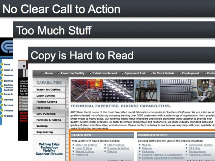 Webinar On Demand: 10 Common Manufacturing Website Mistakes