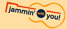 jammin' with you logo