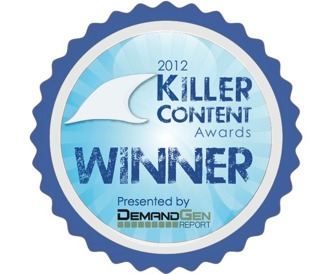 Killer Content Award Badge