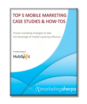 MarketingSherpa Top 5 Mobile Marketing Case Studies