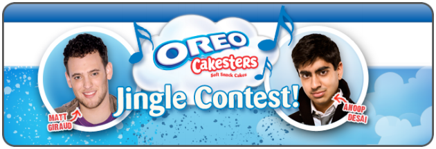 Oreo's running a contest.
