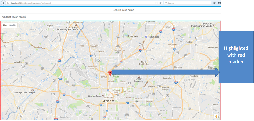 How to Integrate Google Maps in FIORI Application