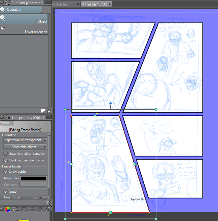 5 Steps To Setting Up A Comic Page In Clip Studio Paint