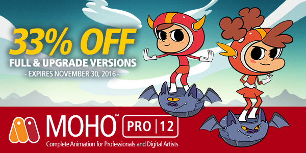 33% OFF MOHO FULL AND UPGRADE VERSIONS