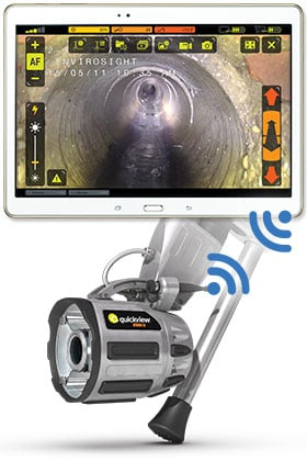 Quickview airHD: An Instant Wireless View into Any Sewer