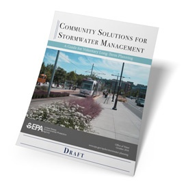 EPA Guide for community-wide stormwater management