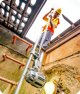 Quickview airHD assessing sewer