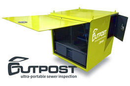 Outpost: Ultra-portable Sewer Inspection