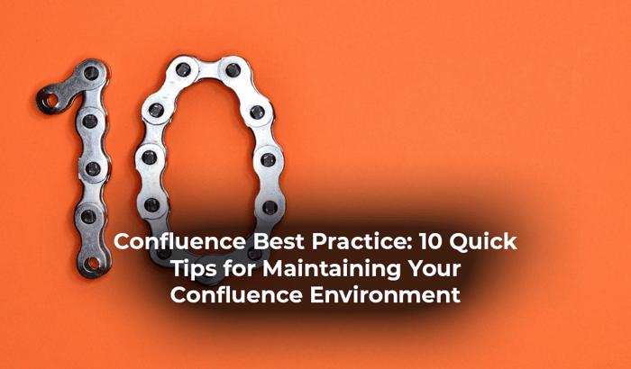 Confluence best practice