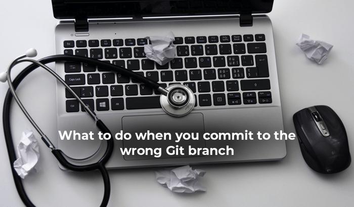 wrong git branch
