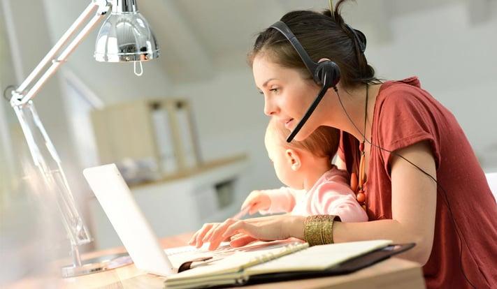 Travailler avec les enfants à la maison : guide de survie