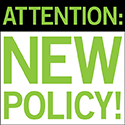 NEW POLICY:  No need to return scleral lenses for credit!