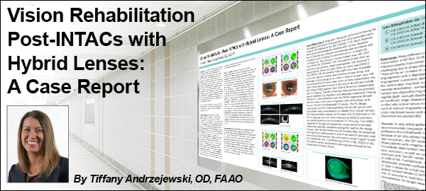 Vision Rehabilititation Post-INTACS with Hybrid Lenses