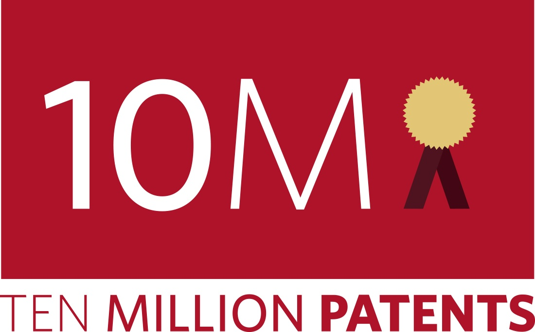 10 Million Patents campaign logo