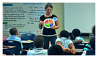 Teacher talks about nutrition. Link takes you to Kids.gov's government jobs lesson plan.