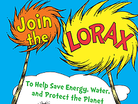 Cover of the Lorax activity book. Link goes to PDF of EnergyStar.gov's activity book on saving energy at home and school