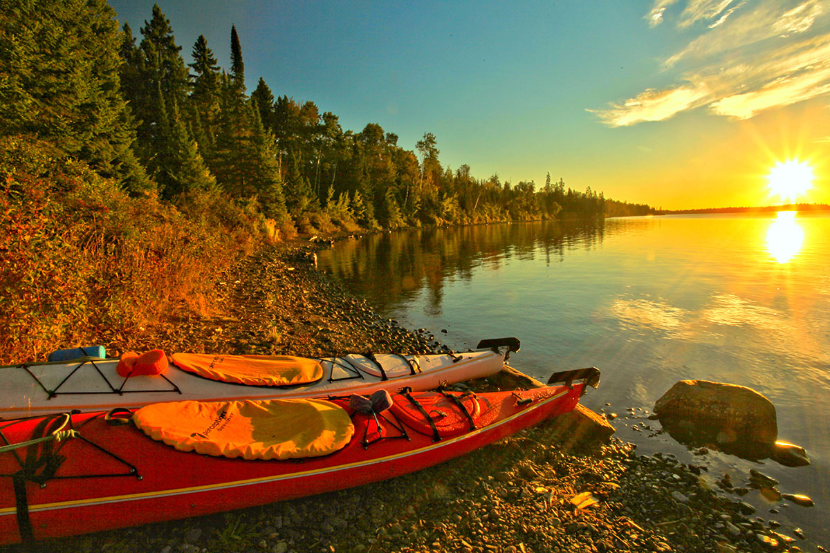 Outdoor - National Park - Lake - Sun