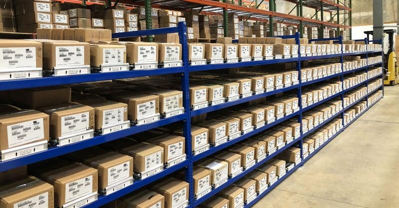 HTF's Warehouse Reorganization Increases Efficiencies