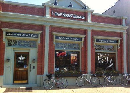 Great Harvest Bread downtown location