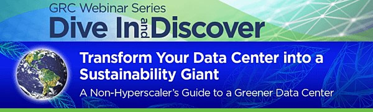 Webinar - Transform Your Data Center into a Sustainability Giant - 600 - Tiny
