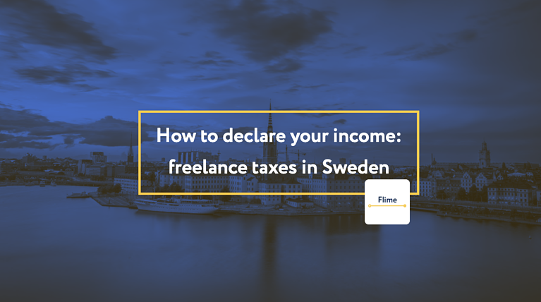 How to declare your income: freelance taxes in Sweden